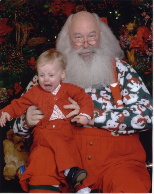 Post image for Mall Santa and a Screaming Child